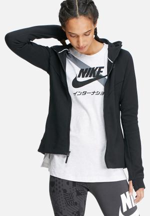 Nike Tech Fleece Hoodie Hoodies & Jackets Black