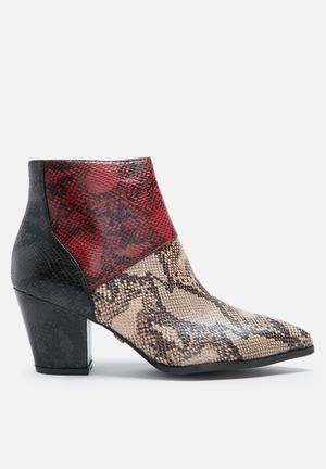 Python ankle boot