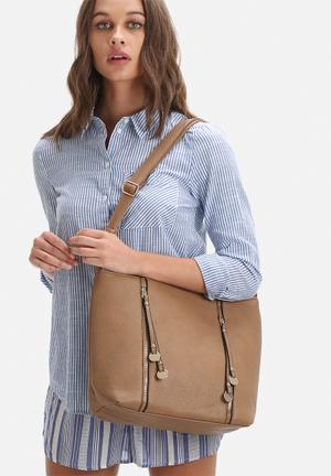 Dailyfriday Sanne Tote Bags & Purses Taupe