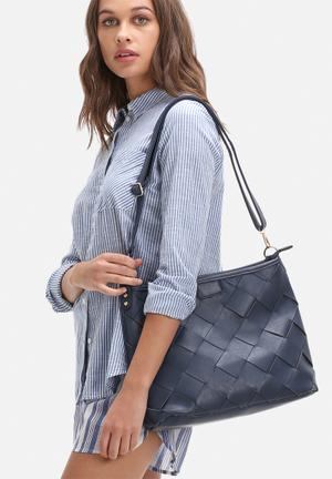 Dailyfriday Daphne Woven Bag Navy