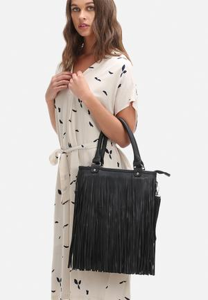 Dailyfriday Brooklyn Fringe Bag Black