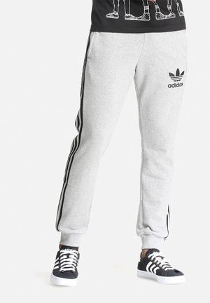Adidas Originals Slim Track Pants Sweatpants & Shorts Grey & Black
