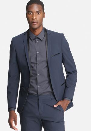 Selected Homme Logan Slim Blazer Jackets & Coats Navy & Black