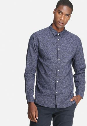 Selected Homme Thousand Regular Fit Shirt Navy