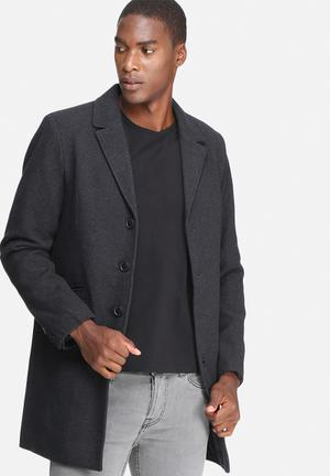 Only & Sons Otto Coat Twill Charcoal