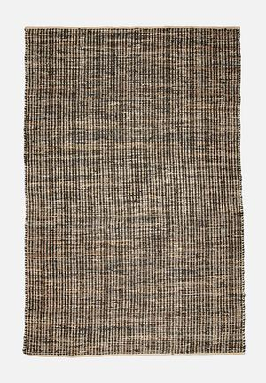 Sixth Floor Jute Stripe Rug Jute