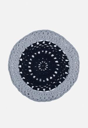 Off The Hook Block Yarn Rug 100% Cotton Yarn