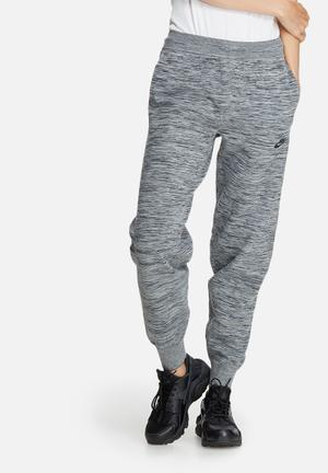 Nike Tech Knit Pants Bottoms Grey