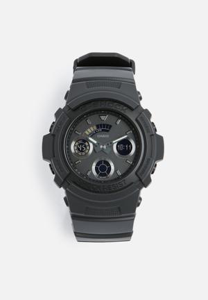 Casio G-Shock W.R. 20 Bar Watches Black