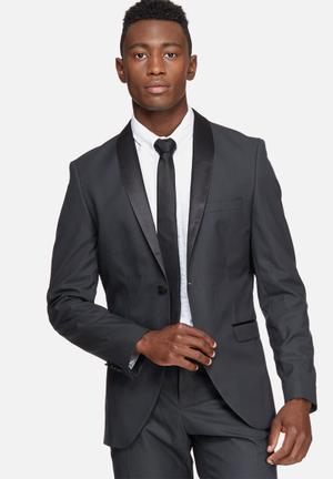 Selected Homme Tuxleon Slim Blazer Jackets & Coats Black
