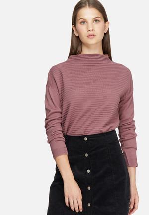 Jacqueline De Yong Daylight Sweater Knitwear Dirty Pink