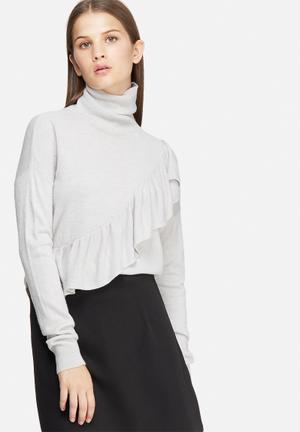 Cassia frill sweater