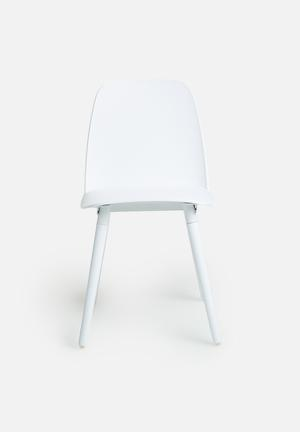 Eleven Past Tommy Chair Polypropylene With Metal Frame & Timber Legs