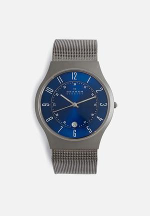 Skagen Grenen Watches Grey & Blue