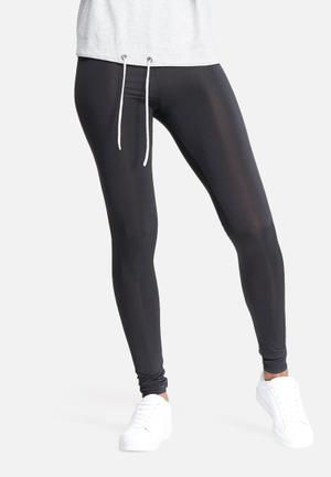 Dailyfriday Slinky Leggings Trousers Black