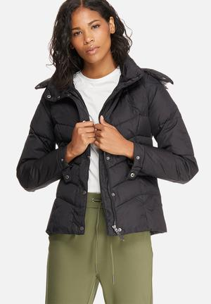 ONLY Sierra Short Down Jacket Black