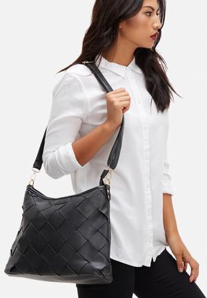 Dailyfriday Daphne Woven Bag Black