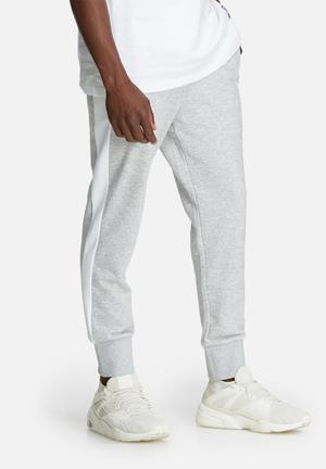 PUMA Archive Logo Sweatpants Grey & White