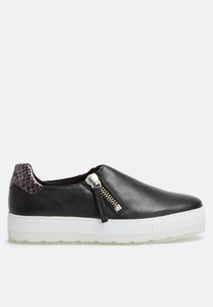 Diesel  S-Andyes Zip Sneakers  Black