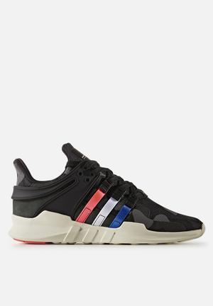 Adidas Originals EQT Support ADV Sneakers Core Black/Blue/FTWR White