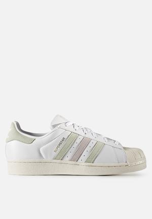 Adidas Originals Superstar Sneakers FTWR White/Linen Green S17/Ice Purple F16