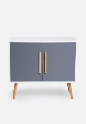 Eleven Past Charcoal Sideboard Wood