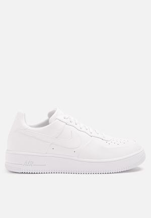 Nike AF1 Ultraforce Leather Sneakers White / White