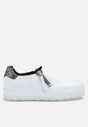 Diesel  S-Andyes Zip Sneakers White