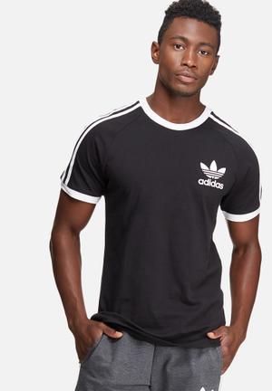 Adidas Originals CLFN Tee T-Shirts Black & White