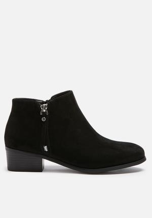 ONLY Biggie Zip Boot Black