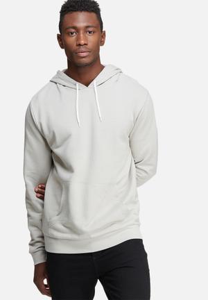 Basicthread Pullover Hoodie Hoodies & Sweatshirts Light Grey