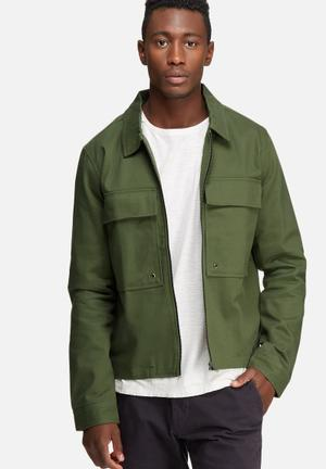 Only & Sons Becks Jacket Green