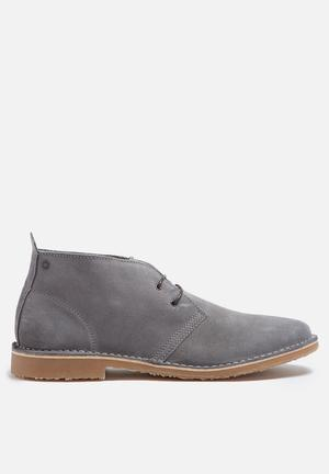 Jack & Jones Footwear & Accessories Gobi Suede Boot Grey