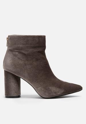 Dailyfriday Velvet Boot Grey