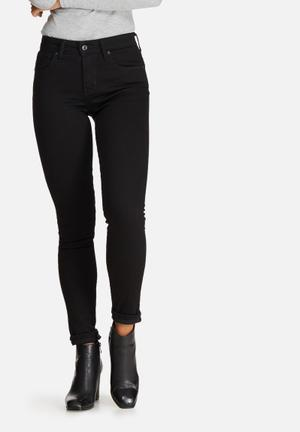 Levi's® 721 High Rise Skinny Jeans Black