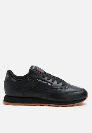 Reebok Classic Leather Foundation Sneakers Black / Gum