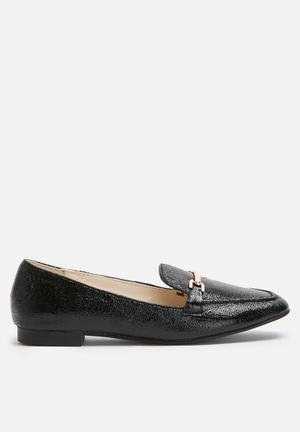Dailyfriday Metallic Loafer Pumps & Flats Black