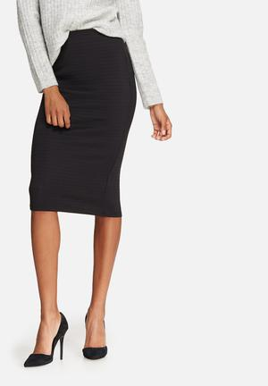Dailyfriday Bodycon Pencil Skirt Black