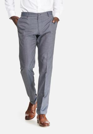 Selected Homme Louame Slim Trouser Pants Grey
