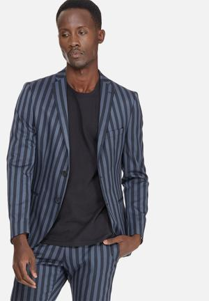 Selected Homme Montbold Slim Blazer Jackets & Coats Navy