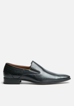 Gino Paoli Sebastian Slip-on Formal Shoes Black