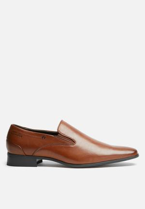 Gino Paoli Sebastian Slip-on Formal Shoes Tan