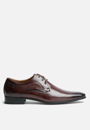 Gino Paoli Didier Derby Formal Shoes Oxblood