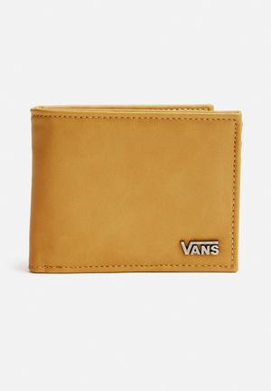 Vans Suffolk Wallet Mustard