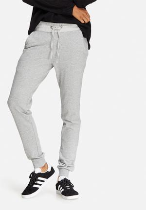 Jacqueline De Yong Lexus Sweat Pants Bottoms Grey