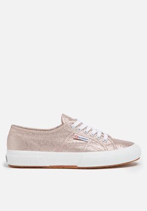 SUPERGA 2750 Lamew Glitter Classic Sneakers Rose Gold