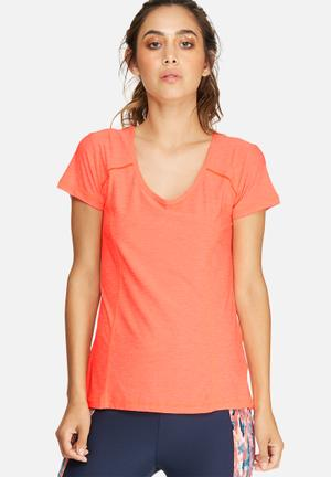Southbeach  Active Tee T-Shirts Neon Coral