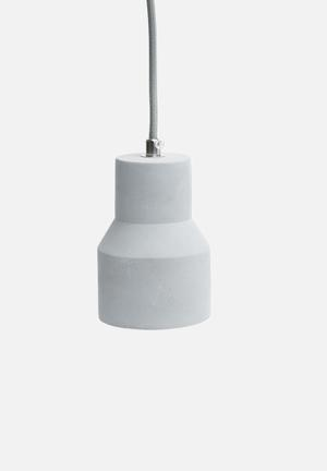 Sixth Floor Cement Cup Light Lighting Cement & Cord