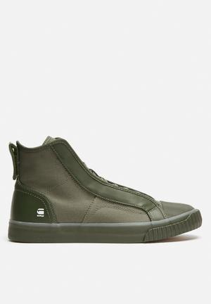 G-Star RAW Scuba Canvas Sneakers Green