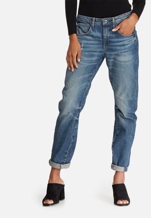 G-Star RAW Arc 3D Low Boyfriend Jeans Blue